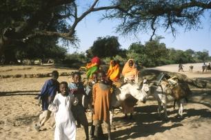 Al-Ganaïna, Darfour, Soudan. 2002