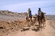 Hoggar, Algérie. 1987