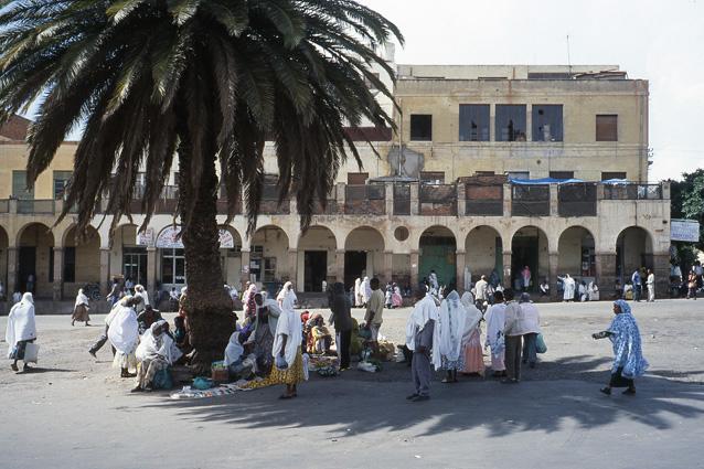 Asmara, Erythrée. 2002