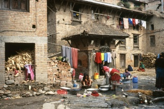 Bungamati, Népal. 2003