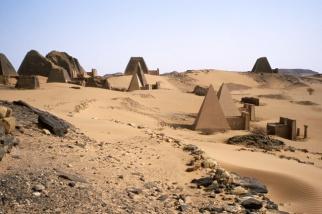 Méroé, Soudan. 2002