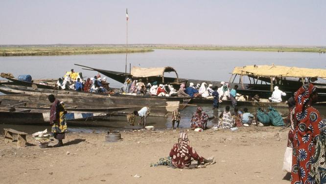 Gao, Mali. 1989