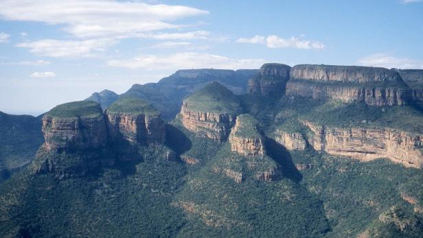 Three Rondavels, Mpumalanga, RSA. 2009